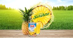 Celebrate A YEAR OF SUNSHINE with delicious recipes from DOLE Canned Pineapple Juice. Put some spring into your step with the refreshing Chia Fresca and the Pineapple Peach Palmer, made with the freshest-tasting pineapple juice on the planet.