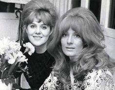 Lynn Redgrave and sister Vanessa Redgrave, 1960s.