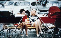 Frauen mit Kinderwagen, DDR