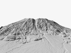 paysage releve laser 03 Des paysages relevés au laser  technologie photographie divers bonus art
