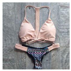 2016 Hot style Bandage Sexy Swimwear Women Swimsuit maillot de bain Bathing Suit woman Diamond Strappy Brazilian Bikini Biquini