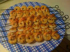 Outback Steakhouse Grilled Shrimp on the Barbie!  I make these every summer! They are amazing!!!! Take the time to make the dipping sauce, you won't regret it!