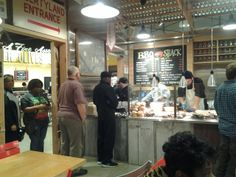 The New @Whole Foods Market of #Memphis: complete with #BBQ Shack!