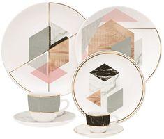 """A decoração """"Manifesto Natural"""" criada por Beatriz Coppola, se inspirou nos elementos: mármore, concreto, ouro e madeira."""