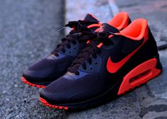 Nike Air Max 90 Hyperfuse - Wine - Crimson yes yes and yes.