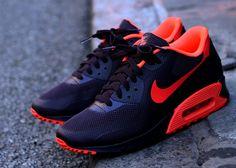 Nike Air Max 90 Hyperfuse - Wine - Crimson