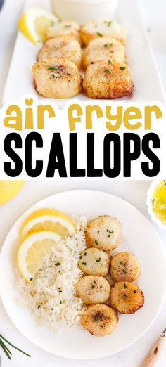 Quick and Easy Air Fryer Scallops Recipe | Airfried.com