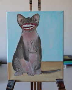 Costum Pet Portraits by Billy Portrait Acrylic, Acrylic Paintings, Painting Videos, Pictures Of You, Pet Portraits, Colorful Backgrounds, Your Pet, Monochrome, Just For You