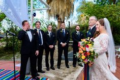 groom crying during ceremony at za za gardens in san antonio by austin wedding photographers