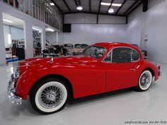 DANIEL SCHMITT & CO CLASSIC CAR GALLERY PRESENTS: 1957 JAGUAR XK140 MC COUPE