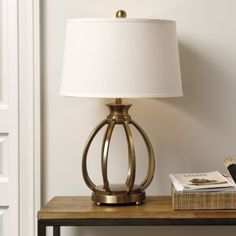 Lorrine Table Lamp at Ballard Designs - it makes me sad that lamps are so expensive. I'll have to look for something similar instead.