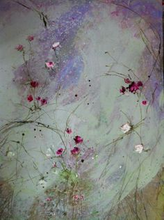 Floral painting by Laurence Amelie.