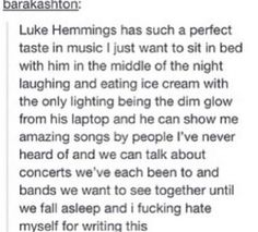 This would be the most perfect thing ever. :')