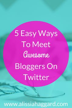 Connecting on Twitter is fun but can be tricky but there are some easy ways to find bloggers there- check out my 5 best tips here: http://wp.me/p6M4qR-jl