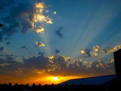 Turf Building Sunset #gvsu #puremichigan