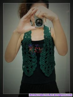 Un chalequito muy bonito… | Mi Rincon de Crochet
