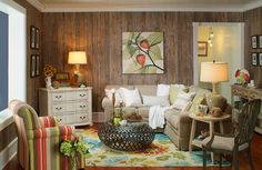 Call it Shabby Chic, Rustic Luxe or just Weathered, this plywood paneling with a cedar laminate is just one of many options!(http://www.designthespace.com/plywood-paneling/weathered-cedar-plywood-paneling/)