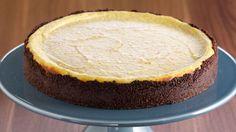 Tarta de queso con ricotta (Biscotti ricotta cheesecake) - Anna Olson - Receta - Canal Cocina