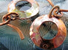 '2 Artisan Copper Toggle Clasps Handcrafted' is going up for auction at 11am Wed, Jun 27 with a starting bid of $6.