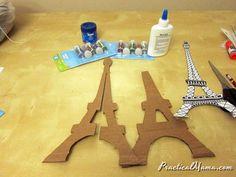 Eiffel tower model for Science Fair.