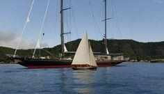 "Luxury superyacht ""Marie"" performs at Loro Piana"