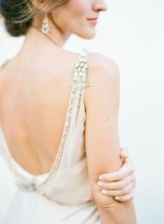 Glam embellished wed