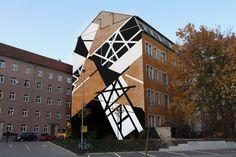 """Résultat de recherche d'images pour """"geometric street mural"""""""