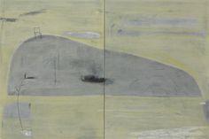 黃色多瑙河 莊瑞賢 油畫 130x194cm