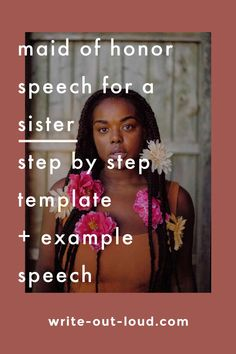 Help to craft a loving maid of honor speech. Follow the step by step template, read the example speech and write! Speech Writing Tips, Writing Strategies, Maid Of Honor Speech, Public Speaking Tips, Learn English, Esl, Teacher Resources, Lesson Plans, Improve Yourself