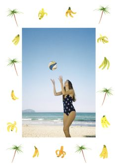 My funky beach days for KLING (11 fotos) http://myfunkybeachdays.tumblr.com/ Artículo en Ruby Star http://rubystar.es/es/my-funky-beach-days-por-claire-o´keefe/ Modelo: Victoria Ribot Ilustración: Ferran Capo Clothes: KLING