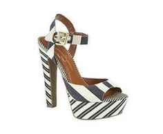 Shop for Jessica Simpson Women's Shoes at Dillard's. Visit Dillard's to find clothing, accessories, shoes, cosmetics & more. The Style of Your Life. Striped Shoes, Cute Shoes, Women's Shoes, Uk Fashion, Shoe Closet, Summer Shoes, Dillards, Heeled Mules, What To Wear