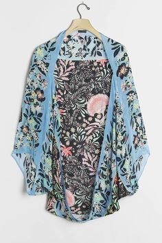 Leah Kimono | Anthropologie Short Kimono, Kimono Top, Fringe Kimono, Long Shorts, Hand Carved, Boho Chic, Personal Style, Anthropologie, Jackets For Women