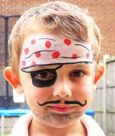 face painting ideas for kids - Get your 16 color palette by Ellie Arts http://www.amazon.com/gp/product/B017L2I0EM