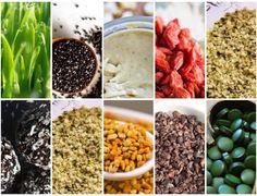 Super Alimentos ou Superfoods são assim chamados por pertencer a uma categoria SUPERior de alimentos que possuem elevada densidade nutricional.