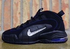 watch a2704 2f3e6  Nike Air Max Penny Black Royal White  sneakers Nike Shox, Air