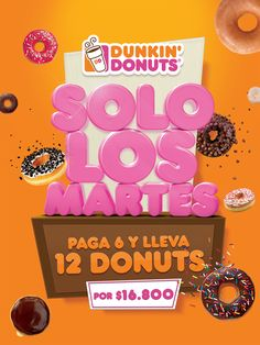 Promo Dunkin Donuts on Behance