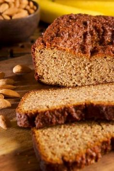 Almond Flour Recipes, banana bread and blueberry muffins, no xanthan gum