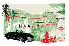 Lee Woodgate - Map of Havana