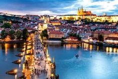 Discover Prague in Czech Republic, one of the best romantic destinations in Europe for a city break! Best hotels in Prague, Best tours and activities in Prague, Best things to do in Prague. World Cities, Best Cities, Restaurant Prague, Restaurant Bar, European Honeymoon Destinations, Travel Destinations, Places To Travel, Places To Visit, European Honeymoons