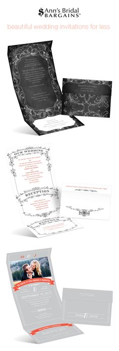 Invitations+for+less+from+Ann's+Bridal+Bargains