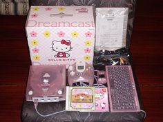 Sega Dreamcast: Hello Kitty pink version