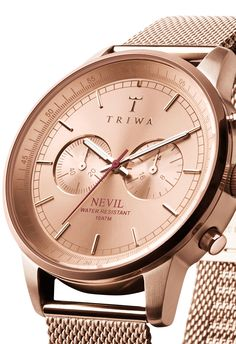 Triwa Nevil Rose Watch - Free Shipping from Watchismo.com