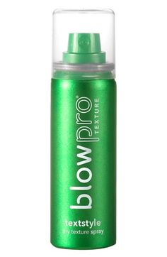 Free shipping and returns on blowpro® 'textstyle™' dry texture spray (2 oz.) at Nordstrom.com. textstyle dry texture spray by blowpro is a versatile formula that allows you to set hair texture in seconds. It's designed to give your hair not only dramatic definition, but to control oil and grease while building desired texture that lasts so you look great all day and into the next.How to use: Shake well and spray 6