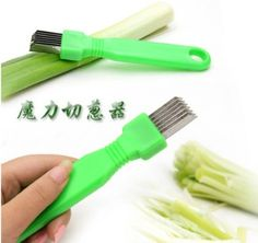 Amazon.com: NEW Green Onion Vegetable Cutter Sharp Scallion Cutter: Cookie Cutters: Kitchen & Dining