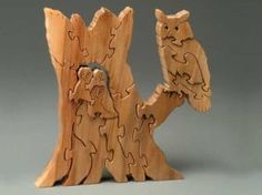 Free Scroll Saw Animal Puzzle Patterns