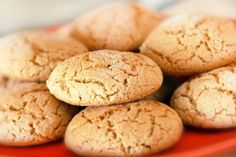 Biscotti Cookies, Plum Cake, Healthy Cookies, Light Recipes, Italian Recipes, Cookie Recipes, Food To Make, Easy Meals, Food And Drink