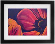 Etsy Handmade, Handmade Art, Handmade Gifts, Colorful Flowers, Purple Flowers, Flower Prints, Flower Wall, Pink Gifts, Acrylic Art