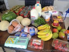 How to save 1/2 on groceries without clipping coupons from FunCheapOrFree.com