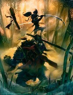 gnome rogue ambushes a pandaren #warcraft