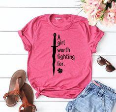 Girl worth fighting for T-Shirt, Mulan shirt, Disney Trip Shirt, Disney Shirt